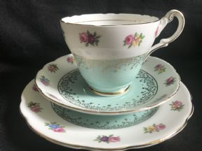 HARLEIGH tea trio -mint / floral